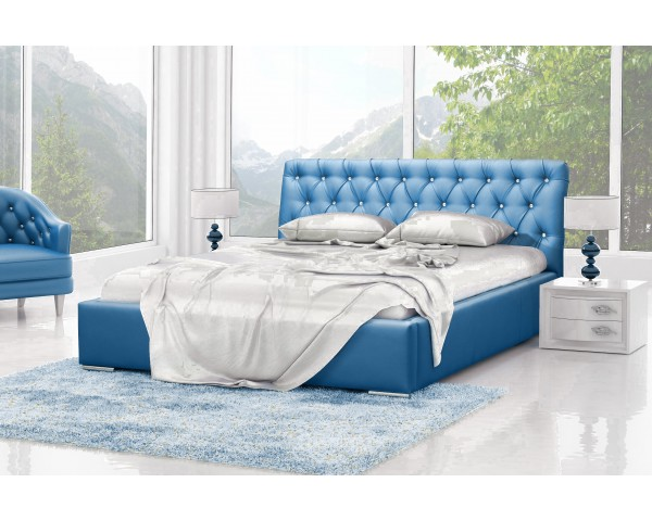 Ортопедическая кровать для ежедневного сна с современным дизайном