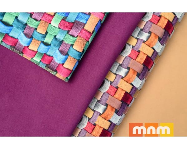Обивочная ткань Тисаж (tissage)  - Принт, Mebeltex