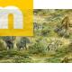 Обивочная ткань Слоны  - Гобелен, ДжиайТекс (J-Tex)