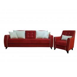 Томас диван (красный)