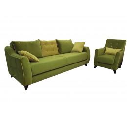Томас диван (салатовый)