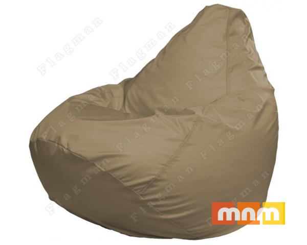 Кресло мешок Г2.2-01 (Темно-бежевый)